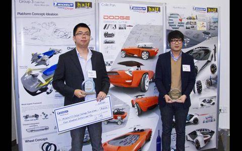 The team award was won by Colin Pan and Hyun Woo Lim.