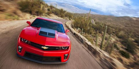 The 2012 Chevrolet Camaro ZL1 is no slouch, even when equipped with a six-speed automatic transmission, even if the supercharged beast is more satisfying with a manual gearbox.