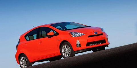 In 2011, 60 percent of Prius owners back in the market bought a Toyota brand vehicle, Polk said in a study.