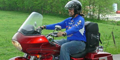 This year, the Kyle Petty Charity Ride Across America will total 2,400 miles.