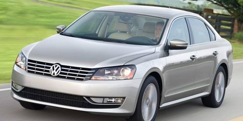 Volkswagen sold more than 10,000 copies of the Passat in March.