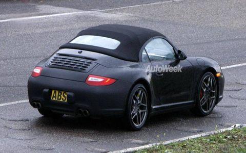 Spied: Porsche 911 Speedster
