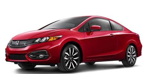 The 2014 Honda Civic starts at about $19,000.