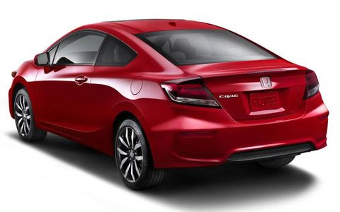 The 2014 Honda Civic goes on sale today.