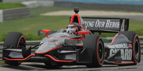 J. R. Hildebrand is anxious to get back to Indianapolis, where he was one turn from winning the Indy 500 in 2011.