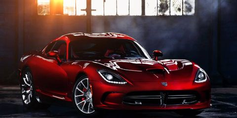 SRT is auctioning off the first production Viper at the Barrett-Jackson auction in Orange County.