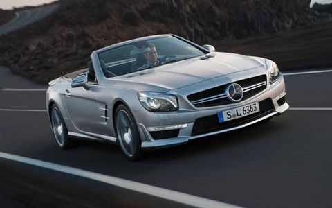 The SL63 AMG is plenty powerful and capable, but more in the nature of a grand-touring roadster versus an edgy, teeth-clenched, white-knuckle racer.