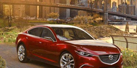 Mazda is dropping the V6 for the next-generation Mazda 6 sedan.