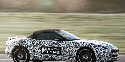 The Jaguar F-Type will be powered by a supercharged V6.