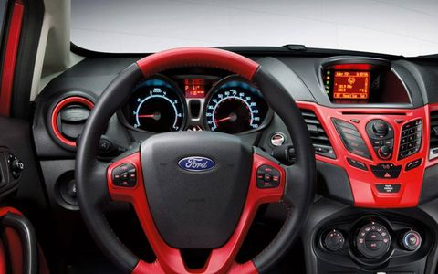 Steering and suspension were adequate, but our editors wished the 120 hp 2012 Ford Fiesta SES Hatchback packed a bit more power.