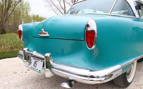 The tastefully boxy design of the 1955 Nash Rambler Custom Super sedan was influenced by Pininfarina's work for the company.