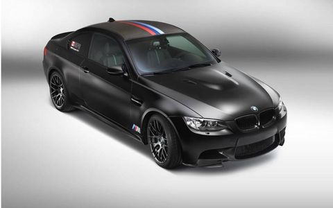 The BMW M3 DTM Championship Edition won't come to the United States.