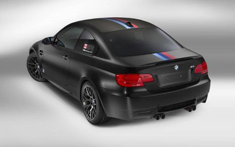 The BMW M3 DTM Championship Edition gets the same power as the standard model.