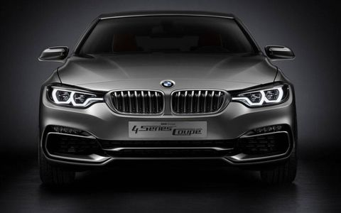 The nose of the BMW 4-series concept.