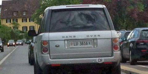 The Land Rover Range Rover hangover edition.