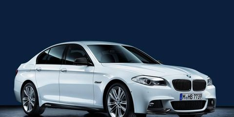 BMW now offers M Performance Parts for the 3- and 5-series.