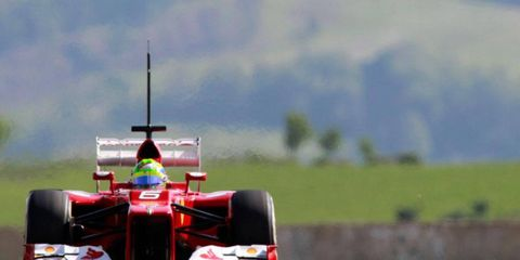 Felipe Massa completed more than 100 laps and was fifth fastest overall on Wednesday on day two of the three-day Formula One test at Mugello in Italy.