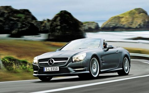 The power and the looks account for much of that effort, but the SL is fine in corners and through curves.
