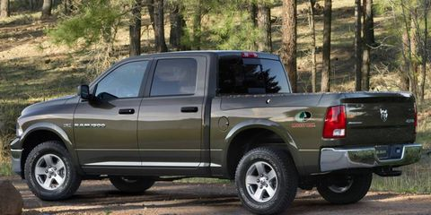 Ram trucks helped propel Chrysler Group sales in April.