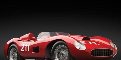 The 1957 Ferrari 625 TRC Spider.