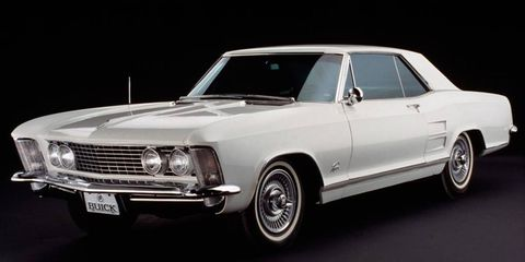 The 1963 Buick Riviera.