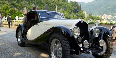 "This 1933 Alfa Romeo 6C 1750 GS 6th Series won the ""Gold Cup"" at the Concorso d'Eleganza Villa d'Este in Italy."