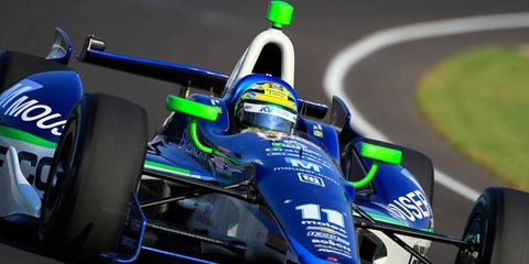 Tony Kanaan's shot at Indy glory on Sunday will be in a Chevrolet-powered Dallara DW12 from KV Racing Technology.