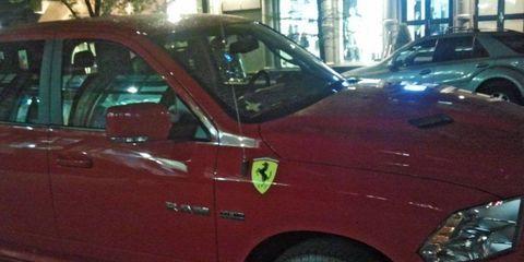 In the depths of New York lies the Ferrari Ram.
