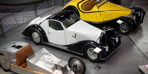 The Mullin Museum plays host to Voisin, makers of some of the dramatic cars ever built.