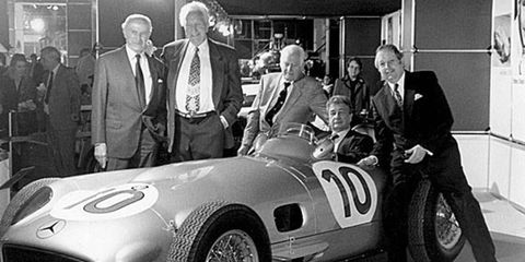 Paul Pietsch (far left), who was a pioneer in Grand Prix racing, died recently. He was 100.