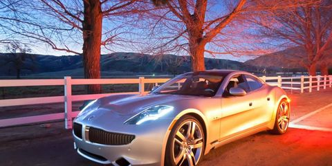 The Fisker Karma sedan will soon be available in Canada.