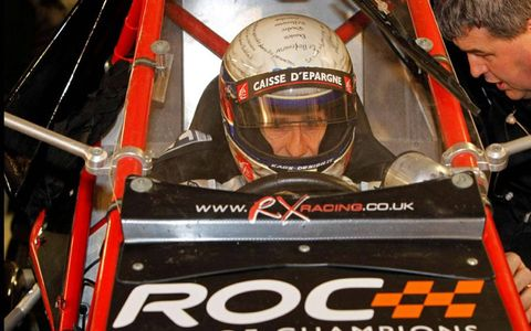 France's Alain Prost in ROC car.
