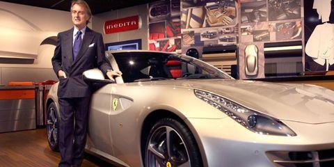 Ferrari head Montezemolo announces the program