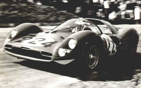 Nino Vaccarella drove a wide variety of cars in his career and entered the Targa everything from a birdcage Maserati to an Alfa typo 33, though in other events he campaigned a Ford GT-40 and a 250 GTO