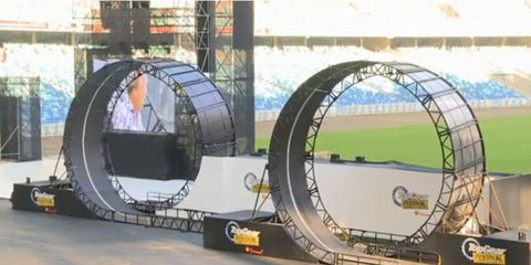 """The """"Deadly 720"""" was performed in front of a live audience in Durban, South Africa."""