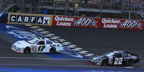 Chris Buescher earned his seventh career ARCA Racing Series victory as the series visited the two-mile Michigan International Speedway Friday afternoon