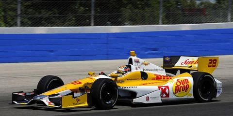 Ryan Hunter-Reay won Saturday's IndyCar race on Saturday, it was the same day his boss, Michael Andretti announced that IndyCar would be returning to Milwaukee in 2013.