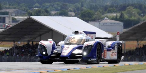 Anthony Davidson flipped out at Le Mans...literally. The driver was in a bad wreck that took him out of the race on Saturday.