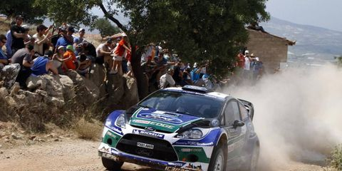 WRC regular Jari-Mati Latvala was recently part of a 12-man team that set several world speed records in France.