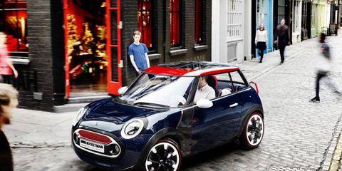 Mini paints Rocketman concept, celebrates Britain.