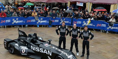 Nissan's DeltaWing is half the weight, half the power and half the fuel cell--and probably uses 1/10th of Audi's Le Mans budget--and it is stealing the limelight in France.