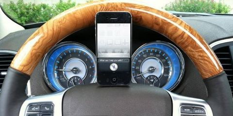 Siri will join the vehicles of eight manufacturers that have in-car apps and voice control.