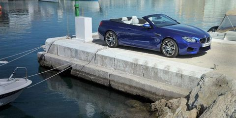 We spent a thoroughly thrilling afternoon driving an M6 convertible in the hills above Santa Barbara, Calif.