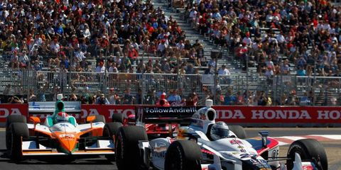Cars will get a boost when it comes to passing on road and street courses for the remainder of the IndyCar Series season.