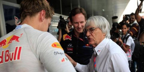 Bernie Ecclestone could face bribery charges in past sales of F1 shares.