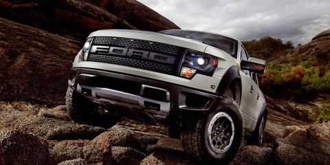 The 2013 Ford SVT Raptor will offer beadlocks and HID headlights.