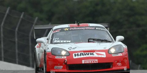 Mike Skeen won both poles and both races on a Pirelli World Challenge double-header weekend at Bowmanville, Ontario.