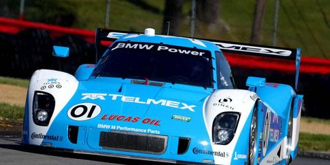 Memo Rojas will take the pole for Saturday's Grand-Am race, although he didn't win in qualifying. He was given the spot after rain washed out the qualifying session.