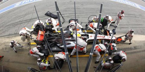 McLaren sporting director Sam Michael said the team has cleaned up its pit stops, and he expects stops to be solid at Valencia this weekend.