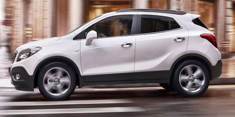 Opel will add the Mokka small SUV to its lineup in Europe.